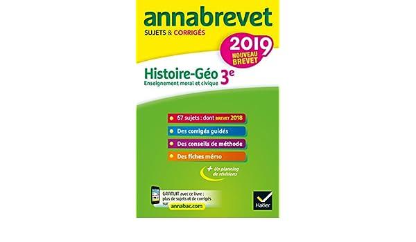 Best date brevet 2018 histoire pour le 2019