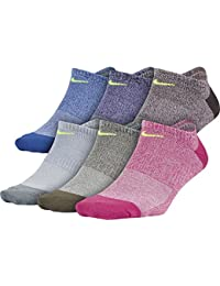 Womens Nike Everyday Lightweight No-Show Training Socks (6 Pair)