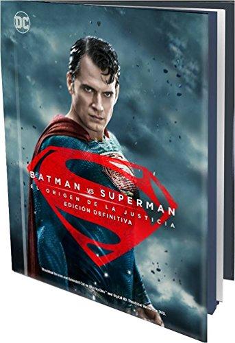 Batman Vs Superman: El Origen de la Justicia (Blu-ray+Blu-ray Ext+DVD+Copia Digital) - Book