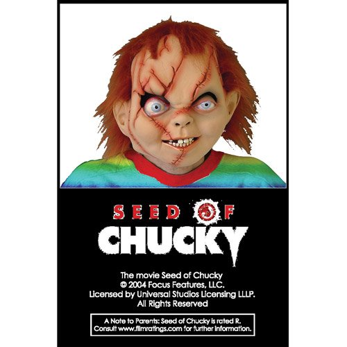 [Seed Of Chucky Costume Mask] (Chucky Costume For Kids)