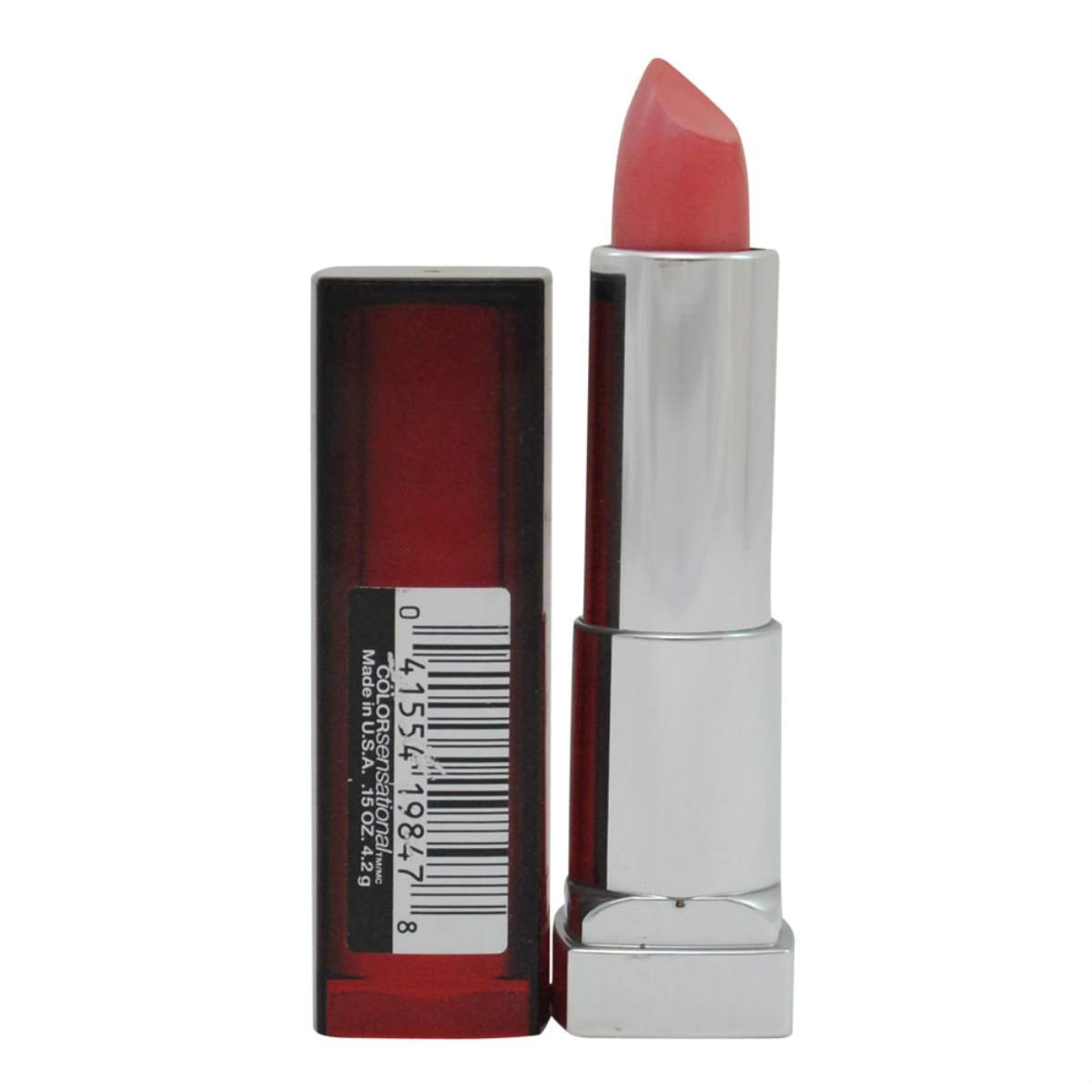 Maybelline New York Colorsensational Lipcolor, Peachy Scene 525, 0.15 Ounce (Pack of 2)