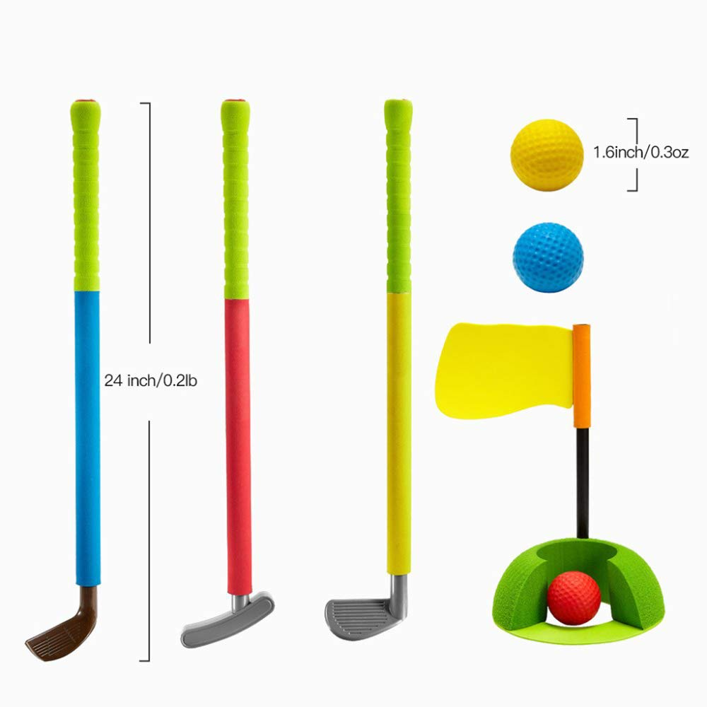 YPSMLYY Juego De Espuma Suave De Golf para Niños Juguetes ...