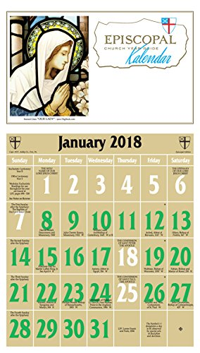 Episcopal Church Year Guide Kalendar (Church Calendar)