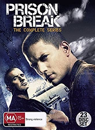Amazon Com Prison Break The Complete Series Seasons 1 4 Dvd Movies Tv