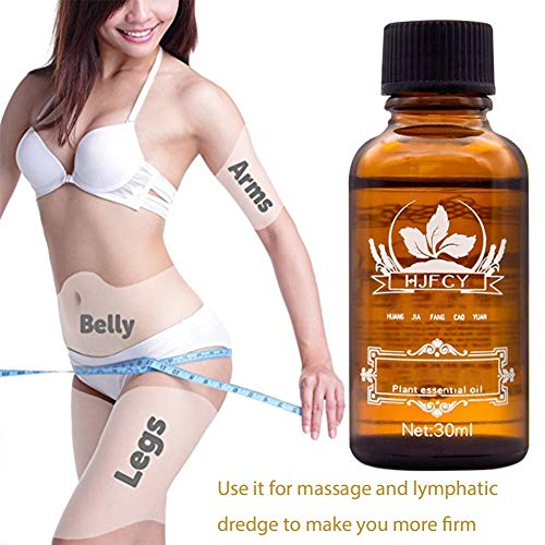 Sunycoo LymphaticDrainageGingerOil100%PureNatural30ml Massage Scrubbing Oil, Relieve Muscle Soreness, Loses Weight (Ginger)