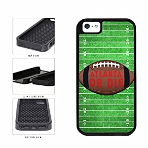 Atlanta or Die Football Field 2-Piece Dual Layer Phone Case Back Cover Apple iPhone 5 5s