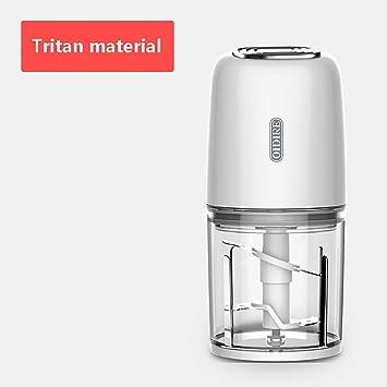 Robot de Cocina Multifunción, Procesador de Alimentos Bebe con Tritan + Material ABS Adecuado para Frutas, Verduras, Carne, 4000 RPM, 250w, 500 ml, 230 × 120 mm: Amazon.es: Deportes y aire libre