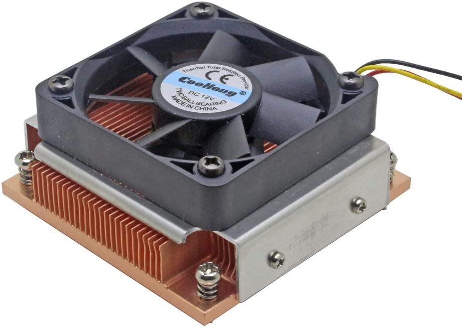 1U Server CPU Cooler Industrial Personal Computer Copper heatsink Cooling Fan for Intel PGA988/989 Active Cooling