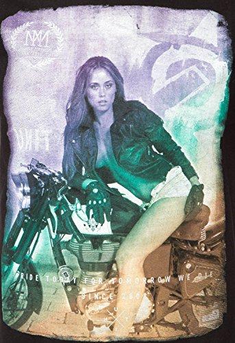 Unit T-Shirt Night Rider Schwarz