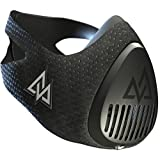 Training Mask 3.0 [All Black] for Performance Fitness, Workout Mask, Running Mask, Breathing Mask, Resistance Mask, Cardio Mask, The Official Used By Pros