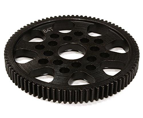 Integy RC Model Hop-ups C26297 Billet Machined Steel 84T Spur Gear for HPI 1/10 Sprint 2 - Spur Hpi Gear