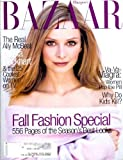 Harper's Bazaar Magazine - September 1998 - The Real Ally McBeal: Calista Flockhart Cover!