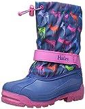 Hatley Girls' Winter Boots-Graphic Deers, Blue, 3