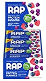 RAP Protein Gummies, Mixed Berry, 2.58 Ounce Bag, Pack of 12
