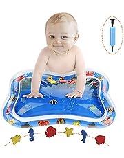 Luchild Tapis de Jeu Gonflable gonflé de Coussin de Coussin de Tapis de bébé Tapis de Jeu Eau Bebe Gonflable pour Petits Enfants 66 * 50cm