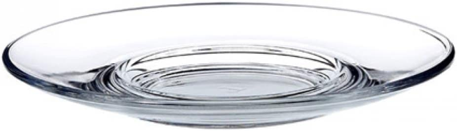 Heybeli Turkish Tea Glass Saucers (Set of 6)