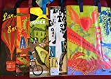The New West Collection 2 Trader Joe's BAGS (5) reusable Shopping grocery ECO bags NWT