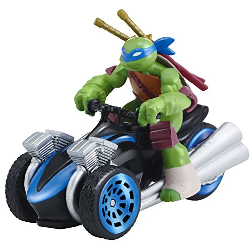 Teenage Mutant Ninja Turtles T-Machines Leonardo in AT-3 Diecast Vehicle (Ninja Turtles Toy)