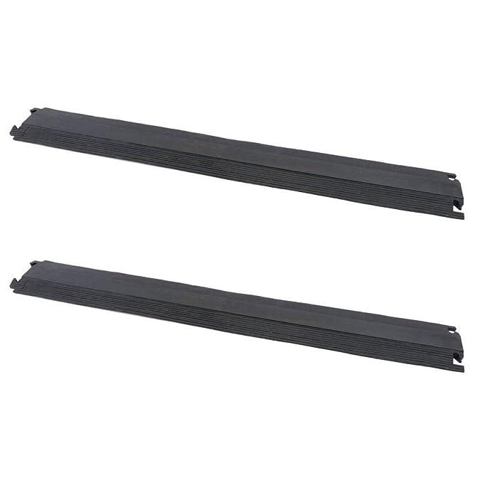 2 opinioni per Passacavo a pavimento in gomma per la protezione elettrici canalina 1 vie 102 x