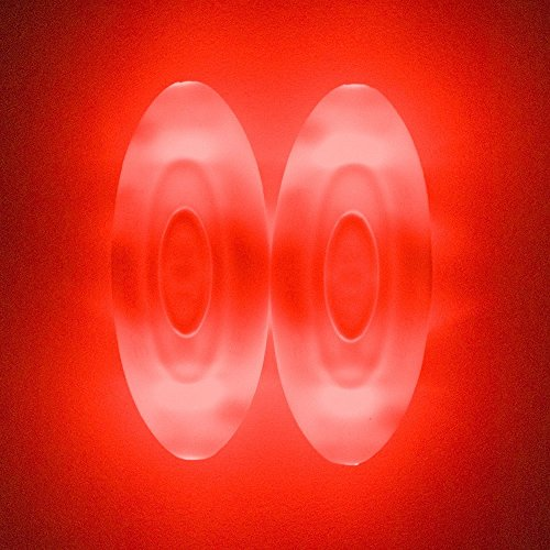 Didadi Ensembles De 2 Lacets Occasionnels De Chaussure De Sneaker Pour Soirée Disco Rougeoyante Cordes De Chaussures Rouge