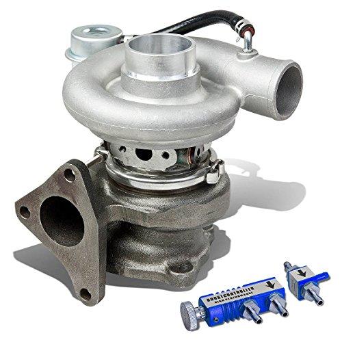 Sti Boost Controller - For Impreza WRX/STi EJ20 EJ25 TD05H 18G Turbocharger w/Wastegate Turbine A/R .49 + 30 psi Boost Controller (Blue)