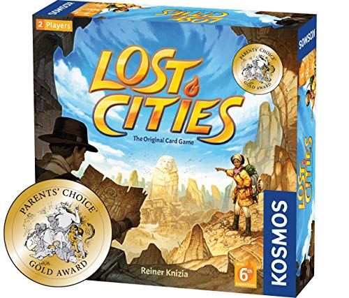 Lost Cities Card Game - with 6th Expedition