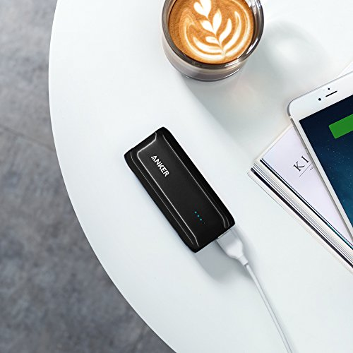 Anker Astro E1 5200mAh Candy bar-Sized Ultra Compact Portable Charger (External Battery Power Bank) with High-Speed Charging PowerIQ Technology (Black) by Anker (Image #6)