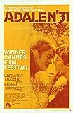 "Adalen 31 - Authentic Original 27"" x 41"" Folded Movie Poster"