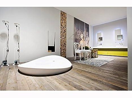 Vasche da bagno Antonio Lupi Dune vasca da bagno semi incasso tonda ...