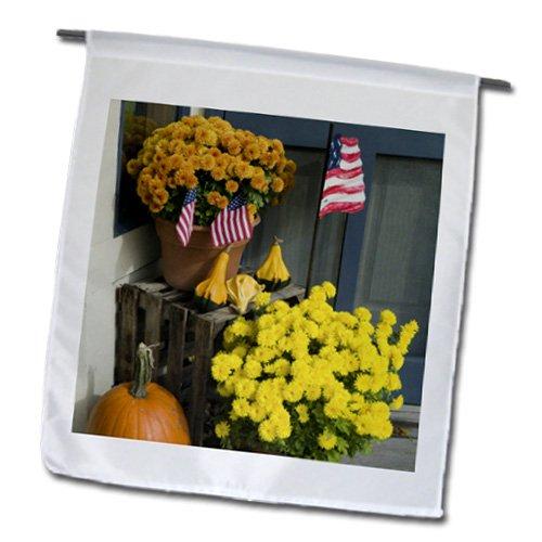Danita Delimont - Michigan - Michigan, Lake Michigan, Leeland, Flowers - US23 WBI0348 - Walter Bibikow - 18 x 27 inch Garden Flag (fl_91264_2)