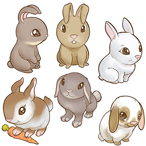 bunny decal - 2