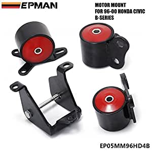 Epman for 96 00 honda civic ek si dx lx ex for Honda civic motor mount replacement cost