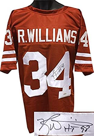 Signed Ricky Williams Jersey - Orange TB Custom Stitched HT 98 Heisman XL  Hologram - Tristar Productions Certified at Amazon s Sports Collectibles  Store bfe2dd80e