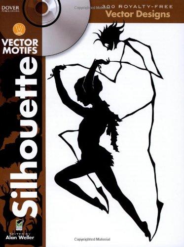 Silhouette Vector Motifs (Dover Electronic Clip Art)
