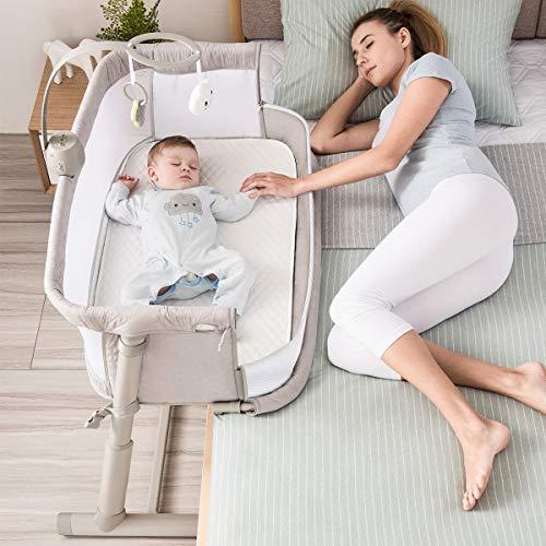 Baby BassinetRONBEI Bedside Sleeper