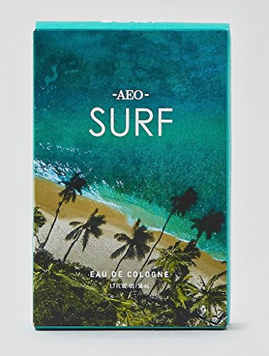 American Eagle Discounts - AEO Surf Cologne for men 1.7 oz / 50 ml by American Eagle