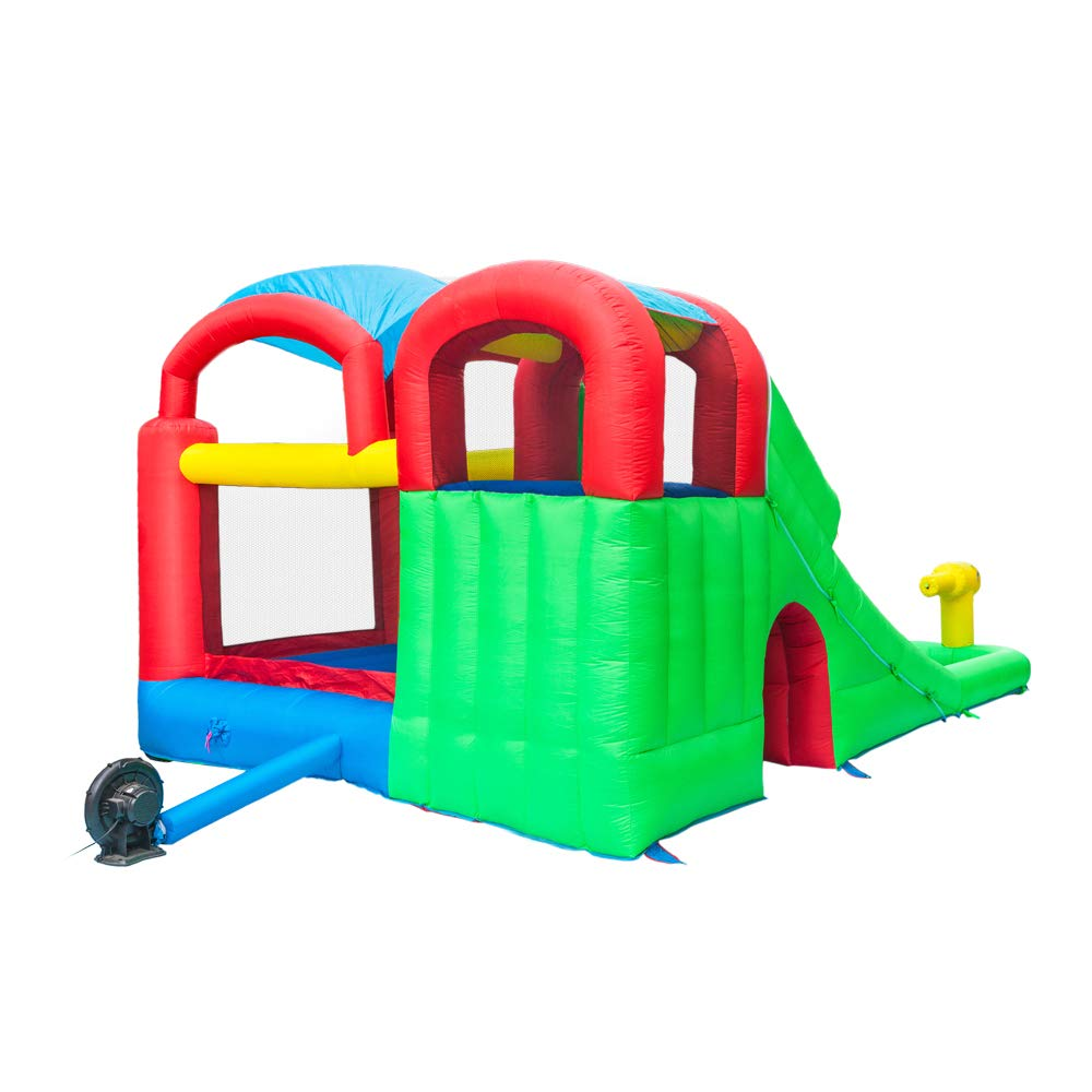 ATI Inflatable Moonwalk Water Slide Pool Bounce House Jumper Bouncer Castle by ATI (Image #6)