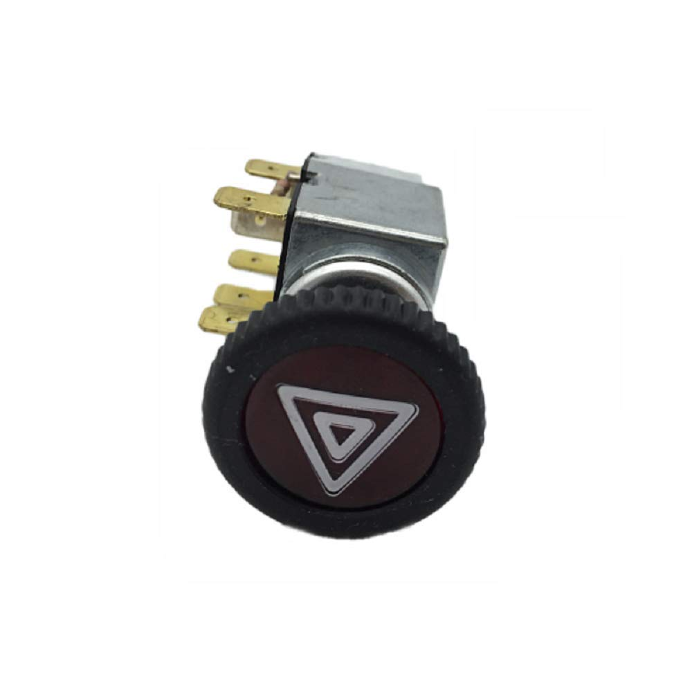 Type 3 1968-1973 211953235A Hazard Warning Light Switch for VW Beetle 1968-1979 Karmann GHIA 1968-1974 Beetle Cabrio 1968-1979 T2 Bay 1968-1979