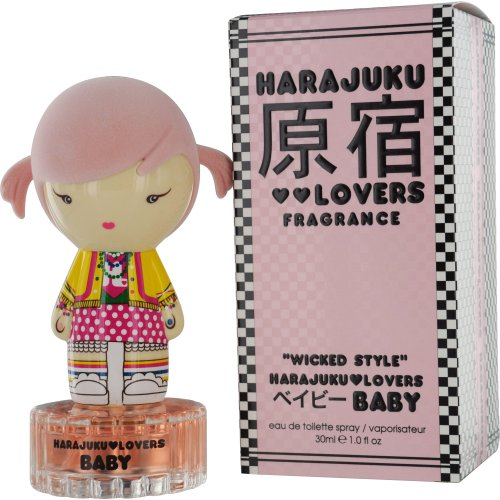 Harajuku Lovers Baby Wicked Style Eau De Toilette Spray, 1-Fluid Ounce