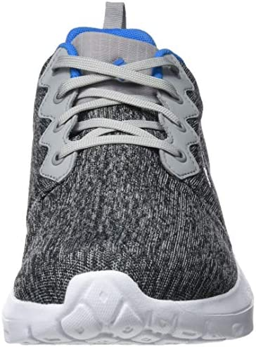 Columbia Homme Chaussures Casual, Imperméable, BACKPEDAL OUTDRY, Taille 43, Gris (Steam, Compass Blue)