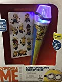 Despicable Me Minion Made Light-Up Melody Microphone