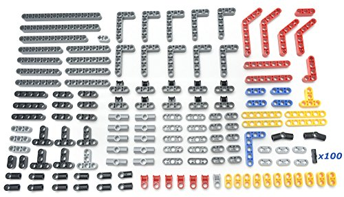 LEGO Technic 238 piece lot, liftarms, connectors, and pins, Mindstorms, NXT, EV3