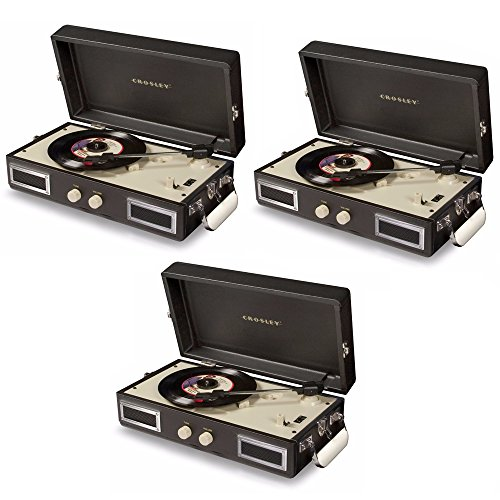 Crosley CR40-BK Mini Turntable with Full-Range Stereo for sale  Delivered anywhere in USA