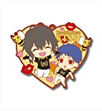 Erukyu ~ and King of prism by PrettyRhythm Koji VS Singh Big Rubber Key Chain