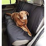 Amazon Basics - Funda para asiento de coche para mascota, color negro, Bench