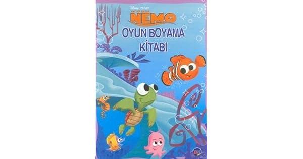 Kayip Balik Nemo Oyun Boyama Kitabi Anonim Amazoncomtr