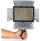 Yongnuo Professional LED Video Light Flash YN300-II With 300pcs Lamps, 4 color sheets for DSLR Camera Canon EOS, 3200-5500K a