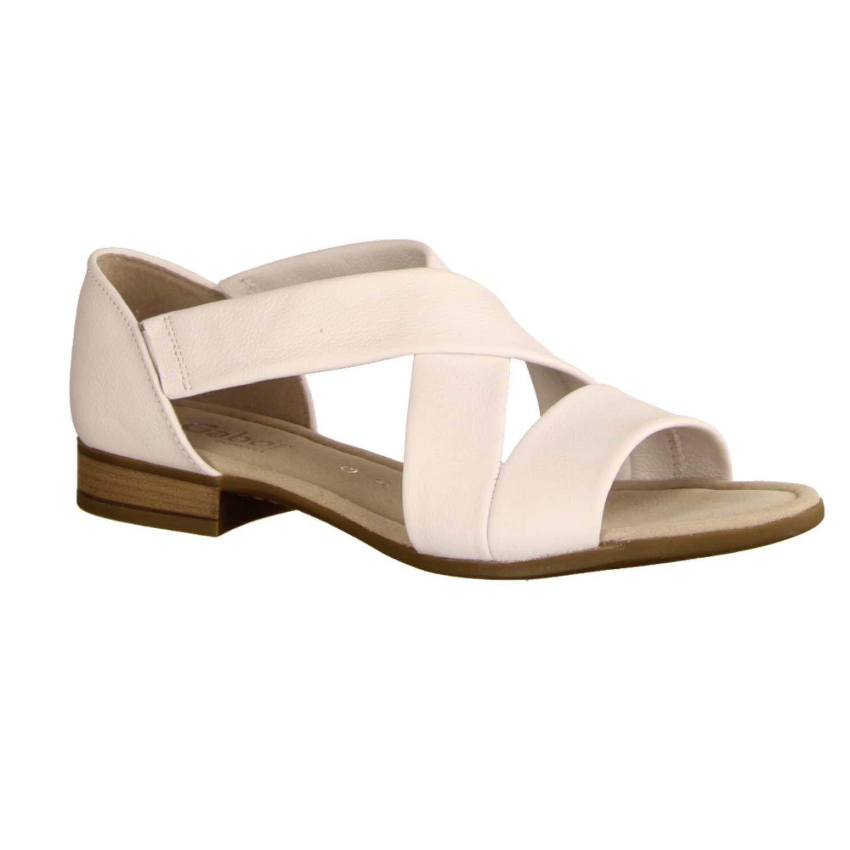 Weiß Gabor Comfort Sandalette 22.761.50