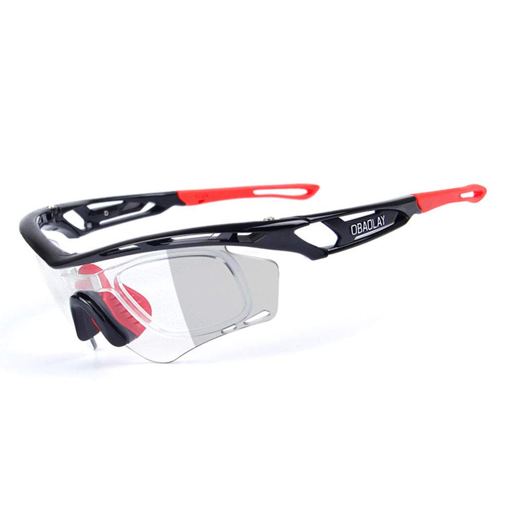 Black Red Sunglasses Glasses Specialist Sport UV400 Predection  Running Cycling Skiing Snowboarding Frame Design for Mens and Womens 4 colors (color   Pink Black)