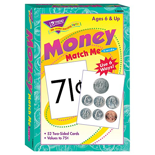 Coin Counting Game - Money Match Me Cards